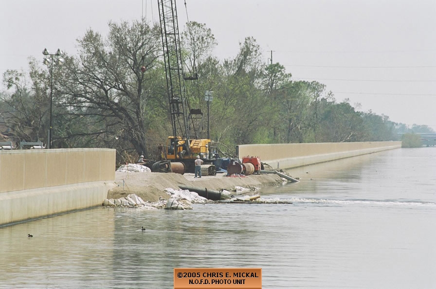 Hurricane Katrina Flooding