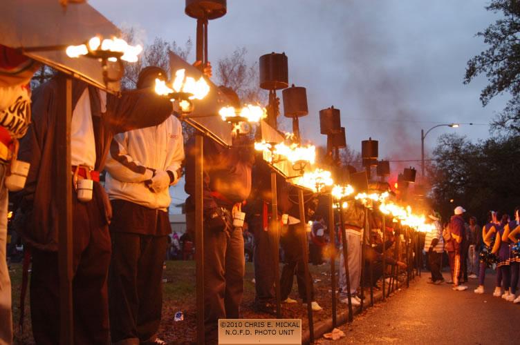 02/12/2010 u2013 Flambeau Lighting u2013 (Mardi Gras) & 02/12/2010 u2013 Flambeau Lighting u2013 (Mardi Gras) | Fireline Photos