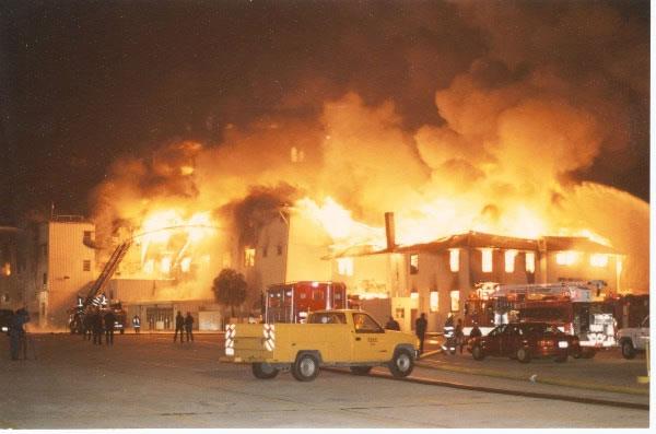 12 17 1993 Fairgrounds Race Track 7 Alarms Fireline