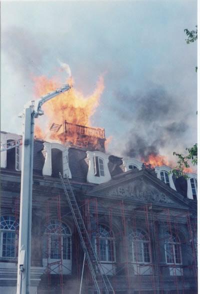 05 11 1988 Cabildo Museum 7 Alarms Fireline Photos